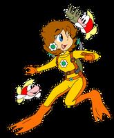 Aqua Daisy and Cheep Cheep by ZeFrenchM