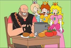 Heavy's royal dinner by ZeFrenchM