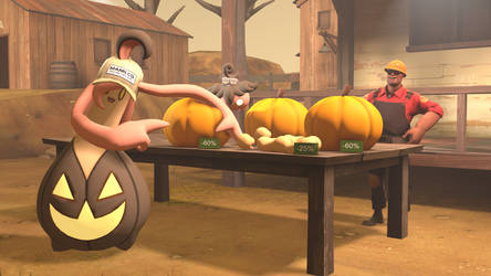 [SFM] Pumpkin Sold off by ZeFrenchM