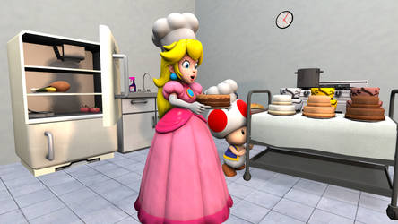 [SFM] Peach Cooking by ZeFrenchM