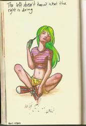 Diary Page No.16 by NatassjaKing