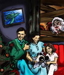 WIP Post-Apocalyptic Christmas by NatassjaKing