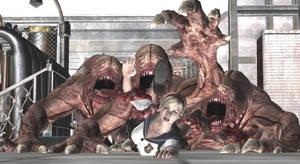 ''Triple Tongue Terror!'' -Front- by VoreQ