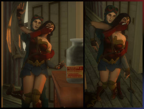 ''You Lose, Wonder Woman!'' by VoreQ