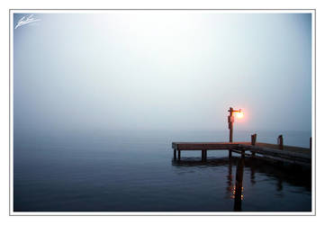 Lone Light Upon Shore by leric