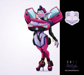 Transformer Syx by Xirmatul by Scratchtastic