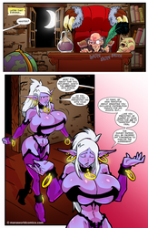 Syx returns after her business meeting ch3pg12 by Scratchtastic