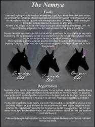 The Nemrya - Foals and registration by Koekeldoedeltje