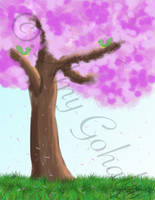 Tree Quick Study by amy3dtd