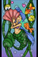 Mermaid 5  by amy3dtd