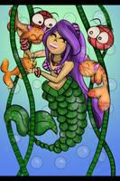 Mermaid 6 catfish!!! by amy3dtd