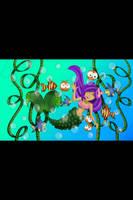 Mermaid making friends 2  by amy3dtd