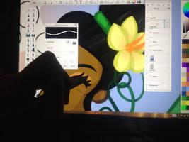 Work in progress by amy3dtd