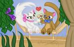 NAPA CATS by amy3dtd