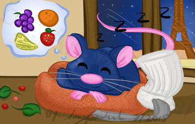 Ratatouille  by amy3dtd