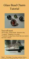 Glass bead charm tutorial by WhispMI21