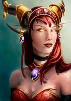 Alextrasza - World of Warcraft by DragonsTrace