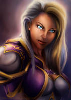 Jaina - World of Warcraft by DragonsTrace