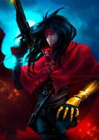 Vincent Valentine FFVII by DragonsTrace