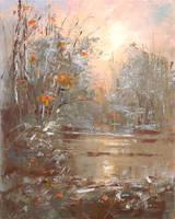 Autumns hoarfrost by flitart