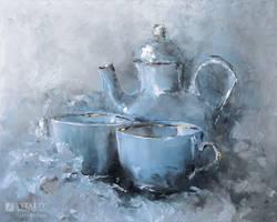 Tea time by flitart