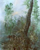 Calming Trees by flitart