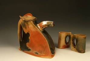 Handbuilt Teapot no. 2 by ThatDirtyKid