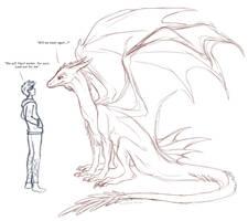 Sketch Art - Meet again by Alcira