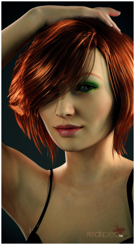 Redspec TGX Hair Glamour Promo 1 by TRRazor