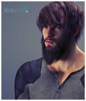 RedSpec TGX Hair: Buffed 1 by TRRazor