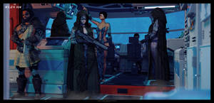 Xelath Dum: Aboard Muninn by TRRazor