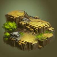 Desert Concept Sketch by st0ven