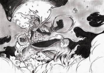 Natsu - The Salamander by PhoenixRage333