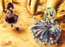 TouHou Fukaen DM by crellia