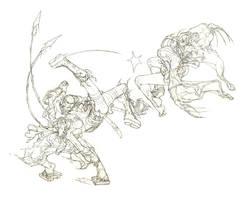 Shwann, Goh-Goh, and Soochi by Shwann
