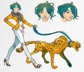 Cheetah Fashion by facundo-lopez