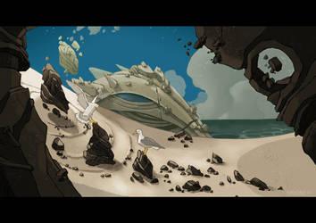 The Coast of the Gods by facundo-lopez