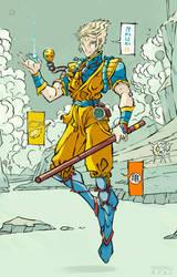 Son Goku by facundo-lopez