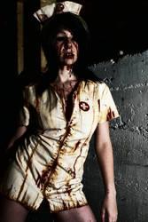 RRE - living dead nurse by LEGENDofLMPF