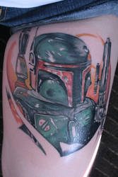 Boba Fett by LEGENDofLMPF