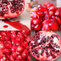 Delicious pomegranate by LadyMisunderstood