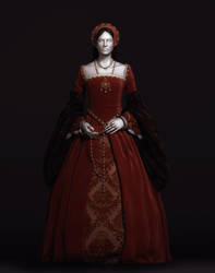 Tudor Gown by Intervain