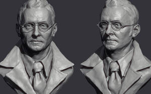 Harold Finch - Sketch by Intervain