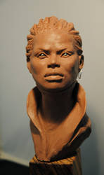 African Woman by Intervain