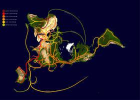 Human Migrations by Concavenator