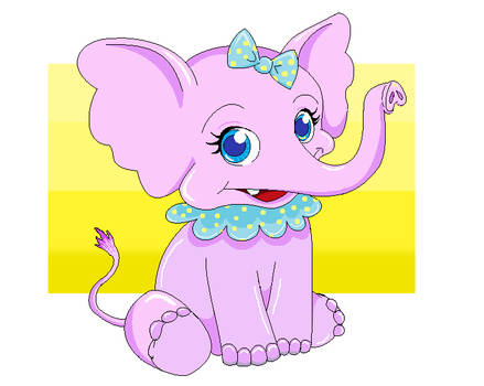 61e81c369c947a Elle the Elephant by luckyblackcat on DeviantArt