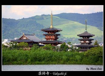 Yakushi Temple by ikari-luis