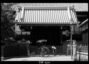 Kyoto's Rickshaw by ikari-luis