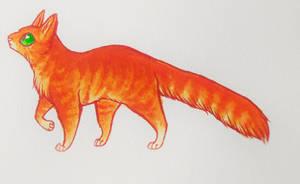 Firestar - Warrior Cats by NeoSkejd
