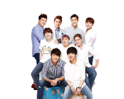 Super Junior PNG [render] by by-AsemA